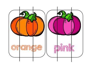 Pumpkin Color Match Puzzles