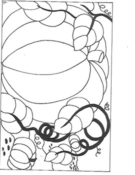 Pumpkin Coloring Sheet