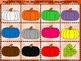 Pumpkin Colors Bingo -- French and English