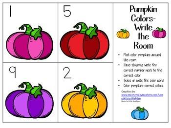 Pumpkin Colors-Write The Room