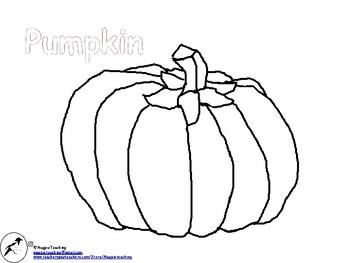 Pumpkin Colouring