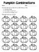 Pumpkin Combinations: Problem Solving Activity