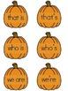 Pumpkin Contractions