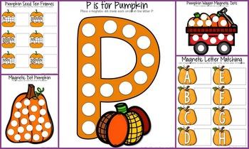 Pumpkin Cookie Tray Activities
