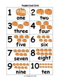Pumpkin Count Cards