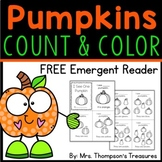 Pumpkin Count & Color Emergent Reader