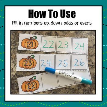 Pumpkin Count On 0-50 - S
