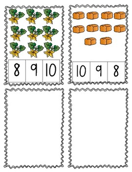 Pumpkin Count and Clip 1-10
