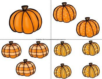 Pumpkin Count the Room 1-10