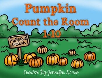 Pumpkin Count the Room 1-10