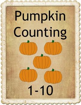 Pumpkin Counting 1-10