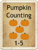 Pumpkin Counting 1-5