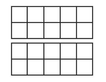 Pumpkin Counting 10 Frames (0-20)