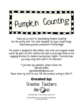 Pumpkin Counting