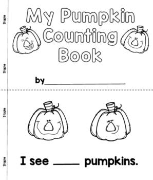 Pumpkin Counting Book