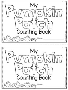 Pumpkin Counting Book - FREE