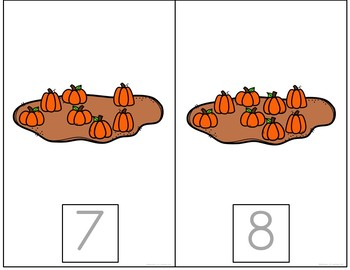 Pumpkin Counting Books: Interactive and Differentiated