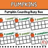 Pumpkin Counting Busy Box