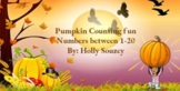Pumpkin Counting Fun