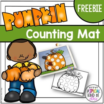 Pumpkin Playdough Mat Freebie