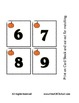 Pumpkin Counting Matching Cards - Free for Halloween Presc