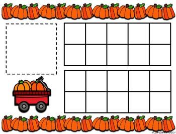 Pumpkin Counting Math-A Fun Number Sense Activity