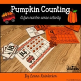 Pumpkin Counting Math-A Fun Number Sense Activity