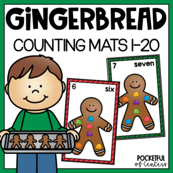 Gingerbread Counting Mats 0-20