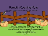 Pumpkin Counting Mats 1-20