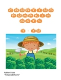 Pumpkin Counting - Number Mats - Prek, Special Education