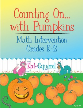 Pumpkin Counting On - Math Intervention