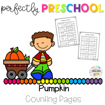 Pumpkin Counting Pages