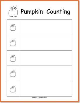 Pumpkin Counting for PreK