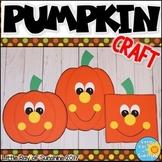 Pumpkin Craft for Fall or Halloween
