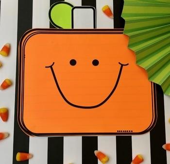 Pumpkin Craft- Book and Writing Activity