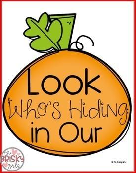 Pumpkin Craft (Fall Display)