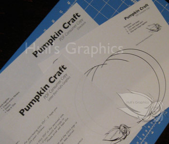 Pumpkin Craft Template PDF