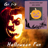 Halloween Pumpkin Craft with Writing Prompt