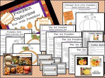 Pumpkin Craftivities - Fall
