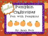 Pumpkin Craftivities - Fall - Freebie