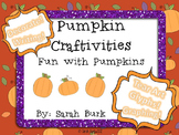Pumpkin Craftivities - Fall