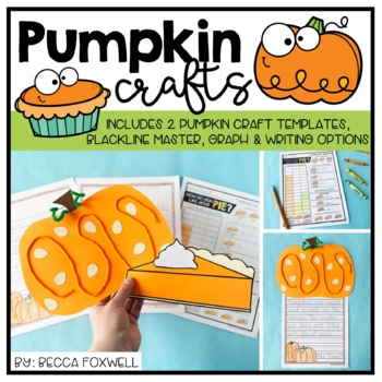 Pumpkin Craftivities {pumpkin writing and crafts aligned with Common Core}