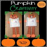 Pumpkin Craftivity + BONUS hat/mask Pack