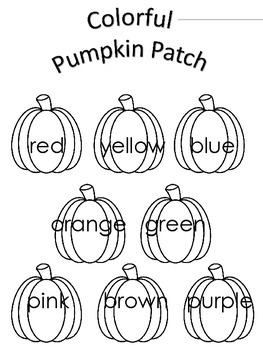 Pumpkin Craftivity