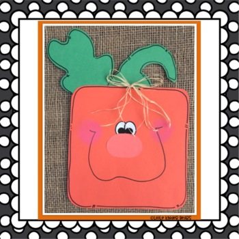 Pumpkin Crafts: Fall Crafts: October Crafts