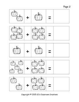 Pumpkin Cut and Paste Addition