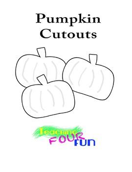 Pumpkin Cutouts Bundle