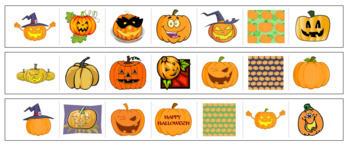 Pumpkin Cutting Strips