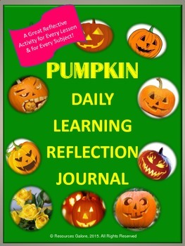 Pumpkin Daily Learning Reflection Journal