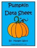 Pumpkin Data Sheet